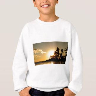 Sweatshirt Coucher du soleil du nord de la Manche