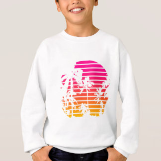 Sweatshirt Coucher du soleil tropical