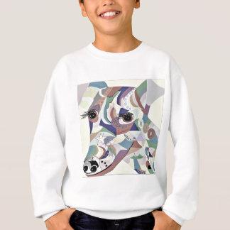 Sweatshirt Couleurs douces de denim de Fox Terrier