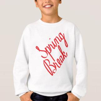 Sweatshirt Coupure de ressort