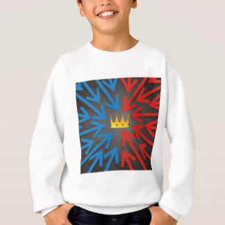 Sweatshirt Couronne d'or
