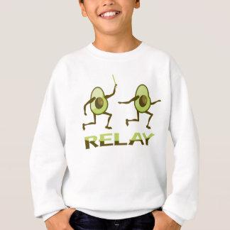 Sweatshirt Course de relais drôle d'avocat