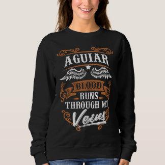Sweatshirt Courses de sang d'AGUIAR par mon Veius