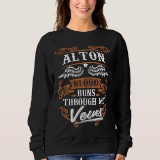 Sweatshirt Courses de sang d'ALTON par mon Veius
