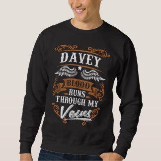 Sweatshirt Courses de sang de DAVEY par mon Veius