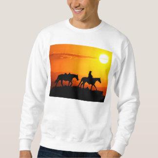 Sweatshirt Cowboy-Cowboy-Texas-occidental-pays occidental