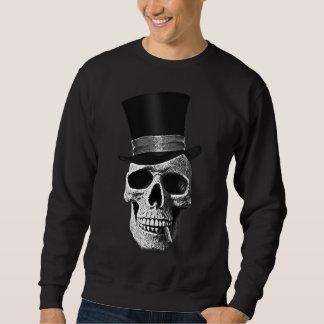 Sweatshirt Crâne de casquette supérieur