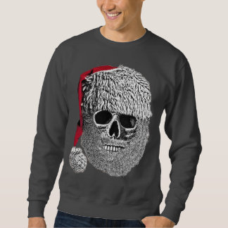 Sweatshirt Crâne de Père Noël