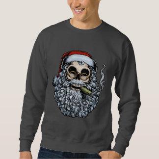 Sweatshirt Crâne de Smokin Père Noël