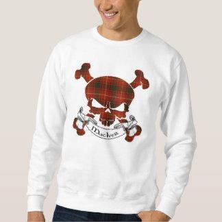 Sweatshirt Crâne de tartan de MacIver