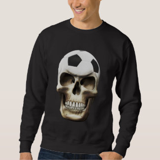 Sweatshirt Crâne du football (le football)