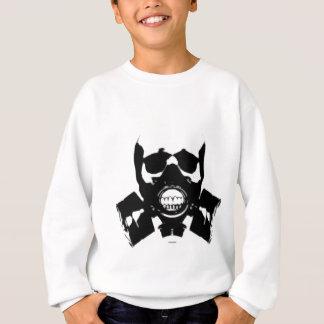 Sweatshirt crâne-gaz-masque-os