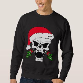 Sweatshirt Crâne père Noël