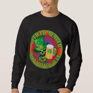 Sweatshirt Crâne potable irlandais d'équipe