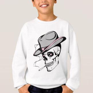 Sweatshirt crâne rose d'oeil