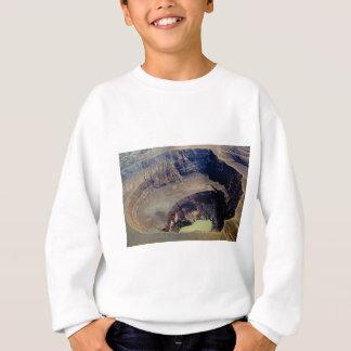 Sweatshirt cratère volcanique profond