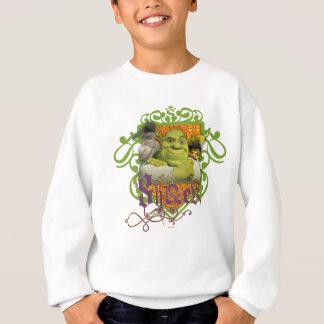 Sweatshirt Crête de groupe de Shrek