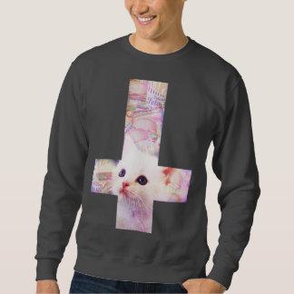 Sweatshirt croisé d'hamburger