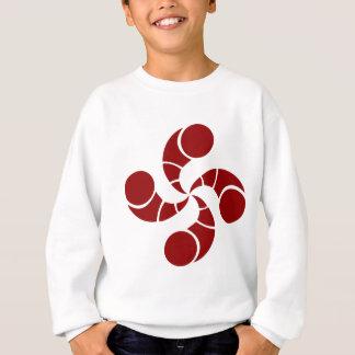 Sweatshirt croix basque de golf