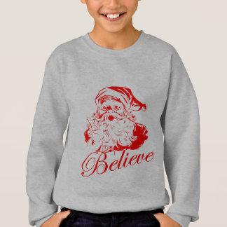 Sweatshirt Croyez au Père Noël