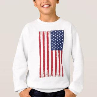 Sweatshirt Cru de drapeau américain
