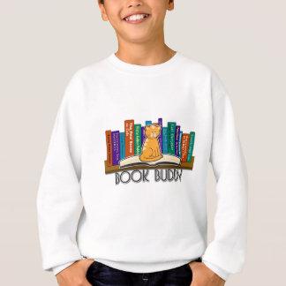Sweatshirt d'ami de livre de chat