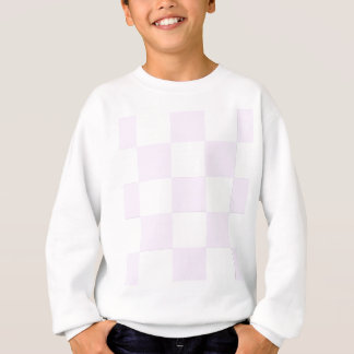 Sweatshirt Damier de roses pâles