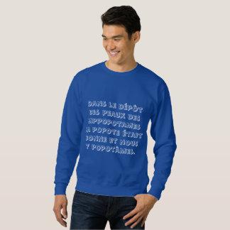 Sweatshirt Dans le dépôt des peaux des hippopotames