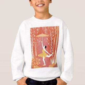 Sweatshirt Danse en rouge de neige
