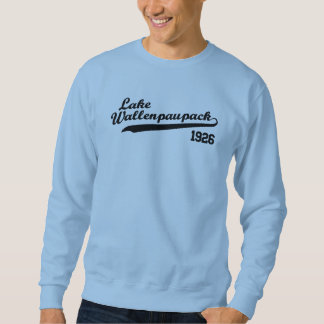 Sweatshirt de base-ball de Wallenpauapack de lac