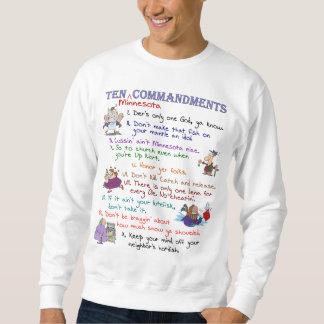 Sweatshirt de base de Dix commandements du