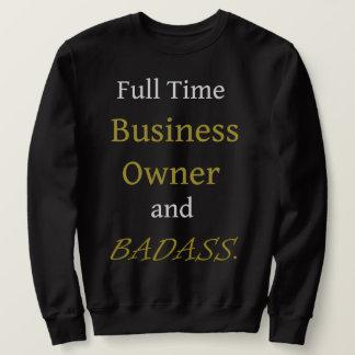 Sweatshirt de base noir - entrepreneur et Badass