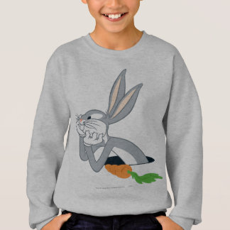 Sweatshirt ™ de BUGS BUNNY avec la carotte