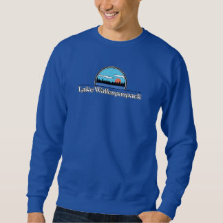 Sweatshirt de camp de Wallenpaupack de lac rétro