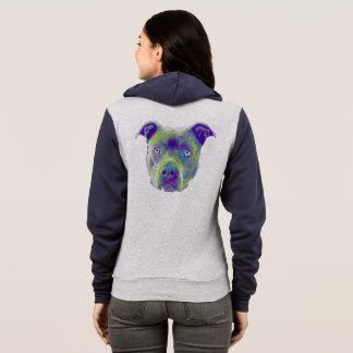 Sweatshirt de chien de Pitbull