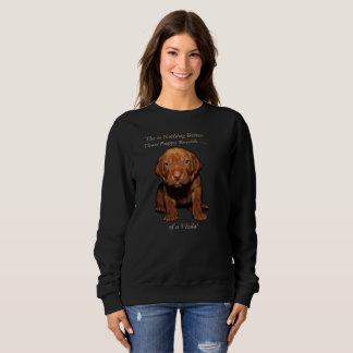 Sweatshirt de chiot de Vizsla