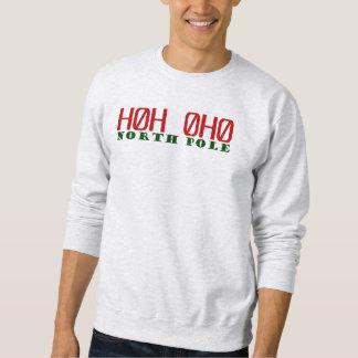 Sweatshirt de code postal de Pôle Nord