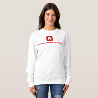 Sweatshirt de Crewneck - femmes républicaines pour