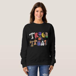 Sweatshirt de des bonbons ou un sort