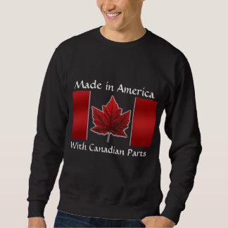 Sweatshirt de drapeau du Canada de sweatshirt du