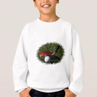 Sweatshirt de fer de golf et de l'enfant de boule