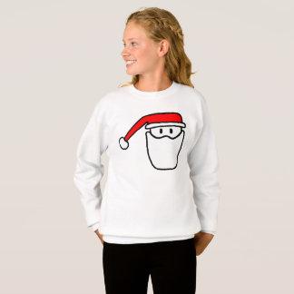 Sweatshirt de fête de pullover de Père Noël de
