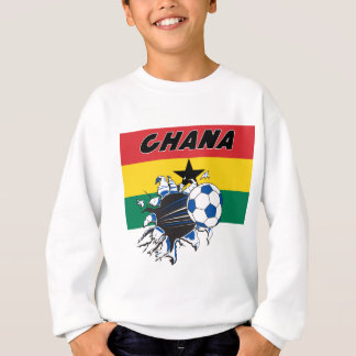 Sweatshirt de football du football du Ghana