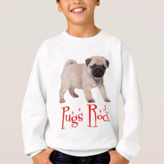 Sweatshirt de garçons/enfants de chiot de roche de
