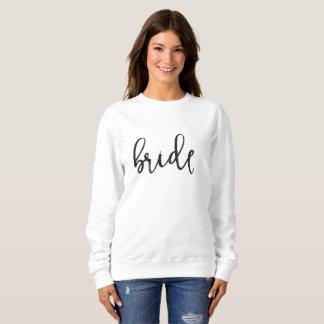 Sweatshirt de jeune mariée