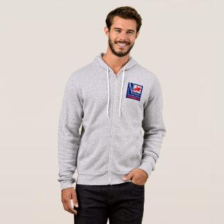 Sweatshirt de la Fermeture éclair- des hommes de