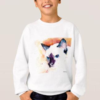 Sweatshirt de la jeunesse de CAT SIAMOIS