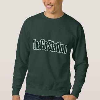 Sweatshirt de logo des textes