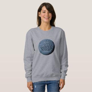 Sweatshirt de lune de MST3K (gris)