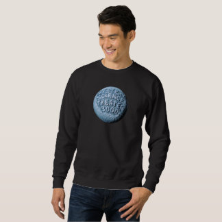 Sweatshirt de lune de MST3K (noir)
